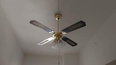Installare ventilatore a soffitto con catenelle