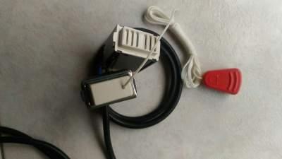 Installare pulsante a tirante in bagno