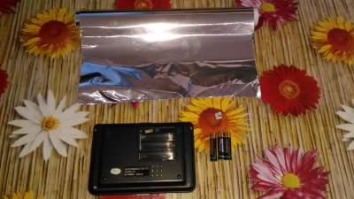 Usare la carta stagnola come conduttore elettrico