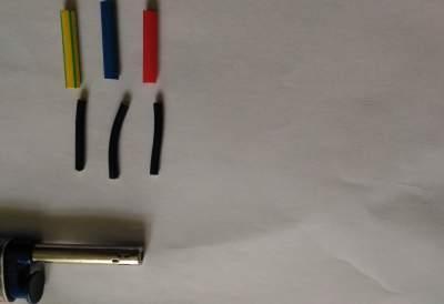 Come cambiare il colore dei fili con la guaina termorestringente