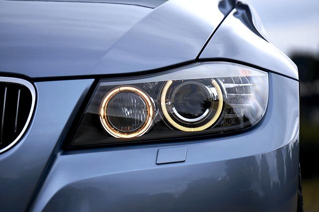 Le lampadine per le luci della macchina
