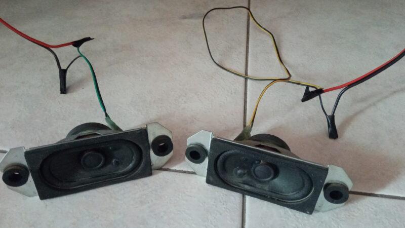 Recuperare casse audio da tv lcd rotto